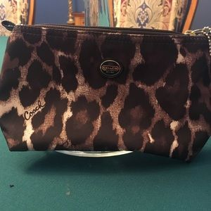 Coach cosmetic bag.  New.